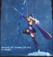 "Garage Kits LOL League Of Legends the Frost Archer Ashe 9"" PVC Action Figure HOT"