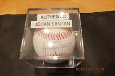 New York Mets Johan Santana Autographed OFFICIAL MLB BASEBALL BY RAWLINGS