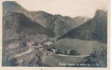 AK aus Kaiserbrunn im Höllental Niederösterreich  (U21)