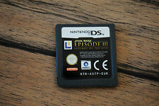 Jeu STAR WARS EPISODE III REVENGE OF THE SITH pour Nintendo DS CARTOUCHE SEULE