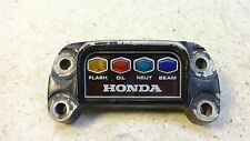1972 Honda CB500 Four H1280. handle bar clamp and indicator light panel