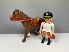 PLAYMOBIL – Cavalière avec son cheval / Horsewoman / 4191 5877