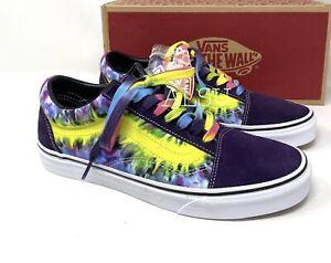 VANS Old Skool Tie Dye Violet Men's  Sneakers VN0A38G1VMO