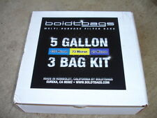Boldt Bags 3 Bag System for 5 Gallon Buckets Made In The USA New