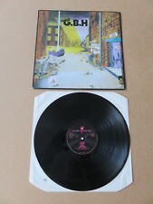 CHARGED G.B.H. City Baby Attacked By Rats CLAY LP RARE 1990 UK PRESSING CLAYLP4