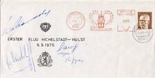 Eerste vlucht Michelstadt - Hulst (1975) - Open klep - Lees!