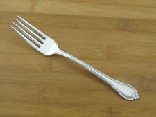 "International 1847 Rogers Remembrance Dinner Fork 7 1/2"" Silverplate Flatware"