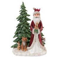 Clayre Eef Weihnachten Deko Weihnachtsschmuck Weihnachtsmann Tannenbaum Tiere