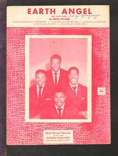 Earth Angel 1954 THE PENGUINS Vintage Sheet Music