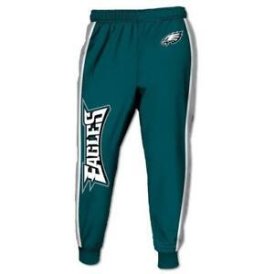 Philadelphia Eagles Casual Joggers Pants Sweatpants Gym Sports Workout Trousers