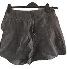 Pantalones cortos de lino Oasis Gris Plata 14