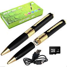 16GB Hidden Spy Rec Pen Cam Camera Nanny DVR Video Recorder Mini Spy Pen Cam NEW
