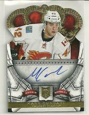 2013/14 Crown Royale Hockey Mark Cundari Rookie Royalty Autographed Rookie Card