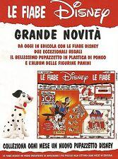 X0857 La Carica dei 101 - Le fiabe Disney - Pubblicità del 1995 - Advertising