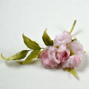 """Seidenblume """"Kleine Rose"""", handgemacht, 100% Seide,Brosche, Haarschmuck"""