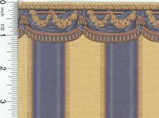 Dollhouse Wallpaper Tara Blue by Mini Graphics