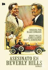 Sunset NEW PAL Cult DVD Blake Edwards Bruce Willis James Garner Mariel Hemingway