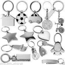 Unbranded Heart Metal Key Chains, Rings & Finders for Women