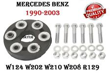 MERCEDES W124 W140 W202 W210 C208 R129 Driveshaft Flex Joint Disc Kit PREMIUM