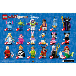 Lego Disney Minifigures Series 1 (18 in Total) # 71012 Opened to Determine Piece