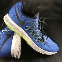 Nike Air Zooom Pegasus 32 Style: 749340-401 GM ROYAL/BLCK-GHST GRN-WLF GRY
