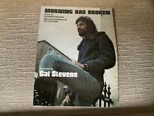 Morning Has Broken - Cat Stevens SHEET MUSIC 1971