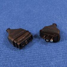 B62A: Britax 2 Pin Plug & Socket - Suit Chescold Fridges