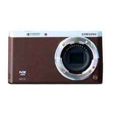 Samsung NX Mini Mirrorless Digital Camera Body Only - Brown