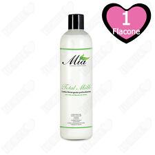 Latte Detergente Viso e Occhi Con Olio di Mandorle anche Pelle Delicata - 500 ml