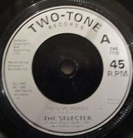 "SELECTER - Missing Words ~ 7"" Single"