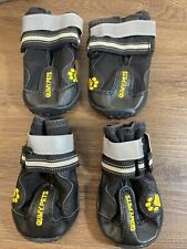 New listing Qumy Dog Boots Waterproof Shoes for Dogs with Reflective Straps Rugged Anti-Slip