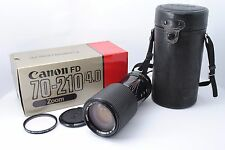 [Near MINT!!] Canon New FD NFD 70-210mm F/4 Zoom MF Lens w/BOX Case from Japan