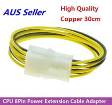 8Pin ATX 12v CPU EPS Power Extension Cable Adapter Motherboard Quality Copper