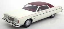 1976 Mercury Marquis 2-Door Hardtop Coupe White by BoS Models LE of 504 1/18 New