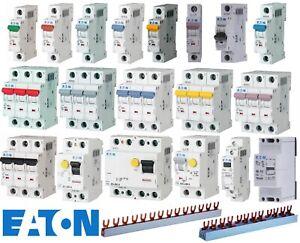 Eaton FI-Schutzschalter Leitungsschutzschalter Automaten Phasenschienen PXL PXF