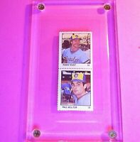 1983 Fleer Stamps Pair Double Robin Yount & Paul Molitor #RYPM HOF MINT Brewers
