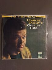 Record LP Greatest Hits By Conway Twitty