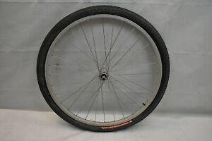 XRims Z1000 Front MTB Wheel Silver OLW100 20mm 32S AV QR Hybrid Cruiser Charity!