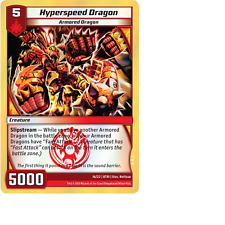 Kaijudo X1 HYPERSPEED DRAGON Foil Rare #16/22 8TRI Elite Series: Triple Strike