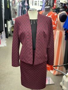 """KASPER SKIRT SUIT/RETAIL$280/LINED/SKIRT LENGTH 25""""/SIZE 10/NEW WITH TAG/"""