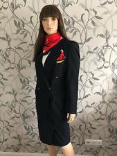 Deutsche BA Stewardess Flugbegleiter Uniform