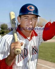Hawk Harrelson 1969-71 Indians- White Sox Announcer TOPPS  Color 8x10 G