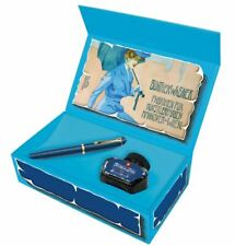 Pelikan Classic M120 Iconic Blue Fountain Pen Box Set Gunther Wagner Ink Bottle