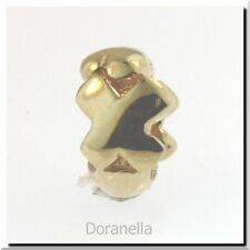 Authentic Trollbeads 18K Gold 21144X Letter Bead X, Gold :0