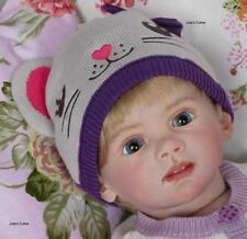 Reborn Doll Kits tête et 3/4 membres pour Faire Bricolage non peinte vinyle bébé nouveau-né