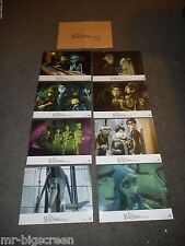 THE CORPSE BRIDE - ORIGINAL SET OF 8 FRENCH LOBBY CARDS - 2005 - TIM BURTON