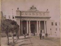 Egitto Palazzo Di El Tin Per Alessandria Foto Vintage Zangaki Ca 1875