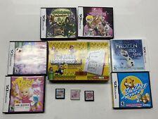 Nintendo 2DS FTR-001 Bundle 9 Games Handheld System No Stylus Box *READ*