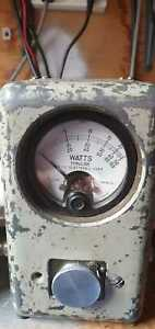 Bird  43 Thruline Wattmeter RF measurement Ham Amateur Radio Power Meter