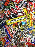 30 Mixed Random Sticker Motocross Motorcycle Car ATV Racing Bike Helmet Decal